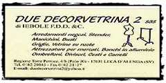 due decorvetrine